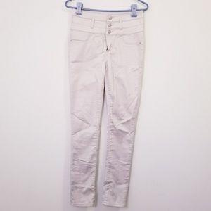 Refuge Size 6 Khaki High Waisted Pants